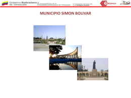 MUNICIPIO SIMON BOLIVAR
