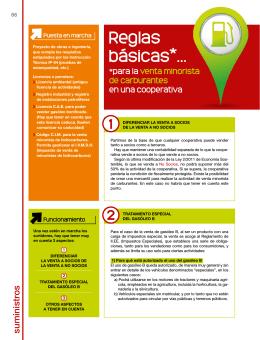 Reglas básicas - Cooperativas Agro