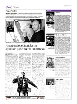 OpinionMalaga - Diábolo Ediciones, editorial de cómics