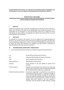 SAP 02-2008 Inversión en Notas Estructuradas como otros