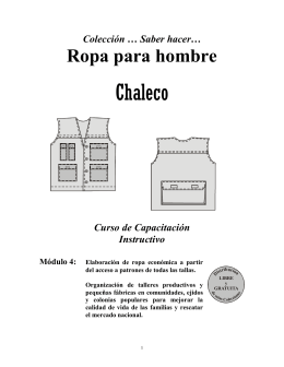 Chaleco - Conevyt