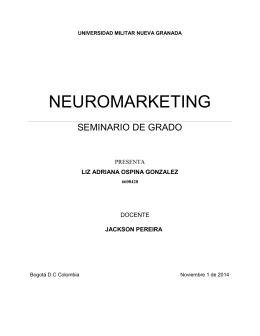 ANALISIS DE LA INFLUENCIA DEL NEUROMARKETING EN EL