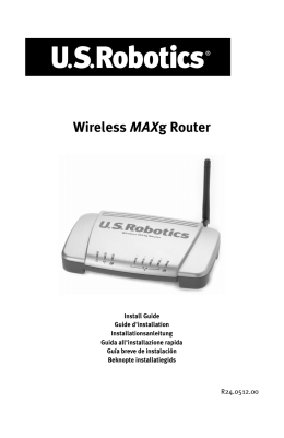 Wireless MAXg Router