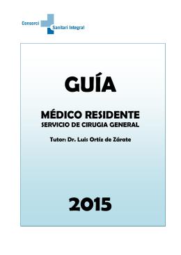 Guía del residente - Consorci Sanitari Integral
