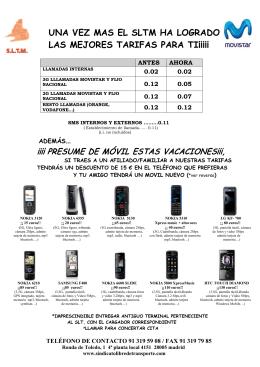 oferta alta y portabilidades