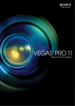 Vegas Pro 11.0 Manual de inicio rápido