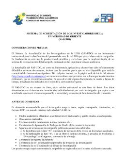 Instrucciones SAI-UDO