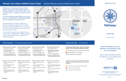 Pathway Your Guide to Moffitt Cancer Center