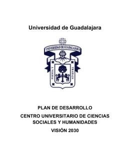 Plan de Desarrollo Centro Universitario de Ciencias Sociales y