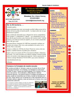 DLI Volante Informativo - Dual Language Academy > Home