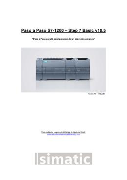 MANUAL S7-1200 – TIA PORTAL v10
