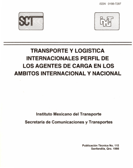 Descarga gratuita - Instituto Mexicano del Transporte
