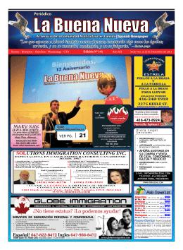 Noviembre 2011 - Las Buenas Nuevas