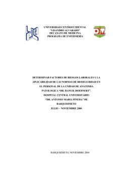 trabajo de investigacion - Universidad Centroccidental