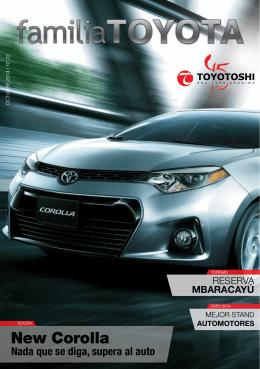 New Corolla - toyotoshi.com.py