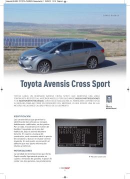 Toyota Avensis Cross Sport