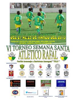 torneo semana santa 2013