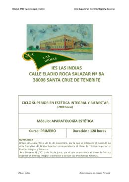 Aparatología - Gobierno de Canarias