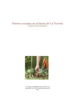 Proyecto huerto comunitario La Victoria v5