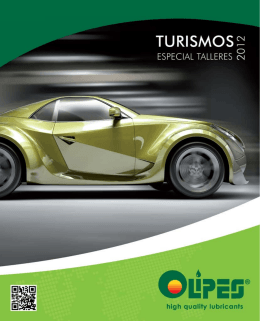 Catalogue Lubricación Automotive sector Workshops