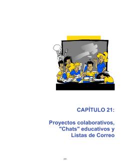 """CAPÍTULO 21: Proyectos colaborativos, """"Chats"""