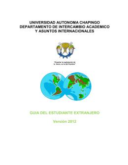 Español - Universidad Autónoma Chapingo