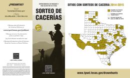 CACERÍAS - Texas.gov