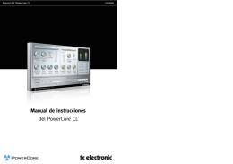 Manual de instrucciones del PowerCore CL