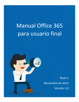 Manual usuario Office 365 Nivel 1