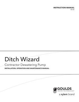 Ditch Wizard - Depco Pump Company