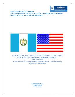 Evaluación de las Relaciones Comerciales entre Guatemala y