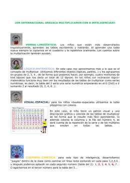 ¡¡EN INTERNACIONAL ARAVACA MULTIPLICAMOS CON 8