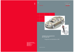 292 Programa autodidáctico 292 adaptive air suspension en el Audi