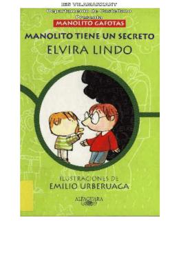Manolito tiene un secreto (Elvira Lindo)