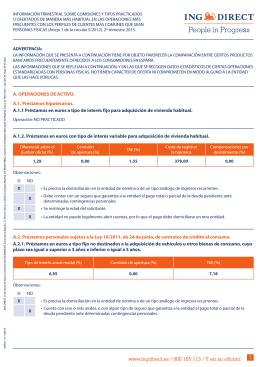 www.ingdirect.es / 900 105 115 / Y en su oficina 1