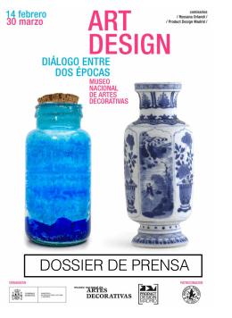 DOSSIER DE PRENSA - Museo Nacional de Artes Decorativas