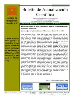 Boletín de Actualización Científica