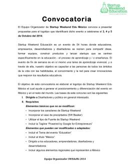Convocatorialogoswedu
