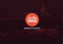 descarga las memorias de sevilla swing 2015