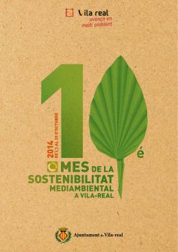10é Mes de la Sostenibilitat - Ajuntament de Vila-real