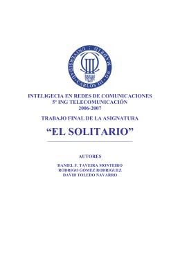 """""""EL SOLITARIO"""""""