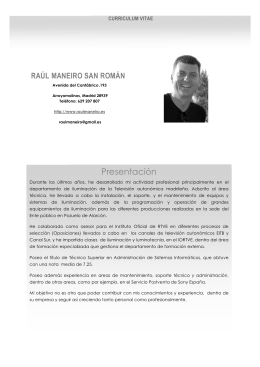 Descarga mi curriculum en PDF
