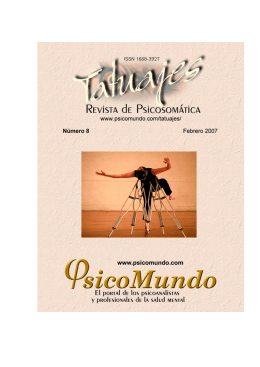 Tatuajes - Revista de Psicosomática