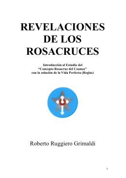 revelaciones de los rosacruces