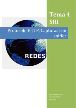 Protocolo HTTP. Capturas con sniffer