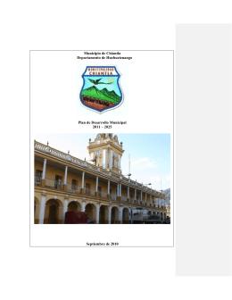 pdm - Técnico Universitario en Administración Municipal