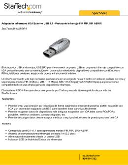 Adaptador Infrarrojos IrDA Externo USB 1.1
