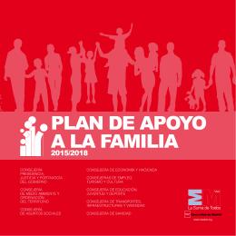 Plan de apoyo a la familia 2015