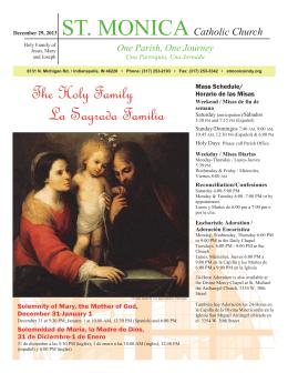 The Holy Family La Sagrada Familia