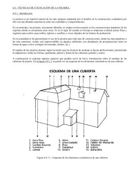 6.8.- TÉCNICAS DE COLOCACIÓN DE LA PIZARRA. 6.8.1